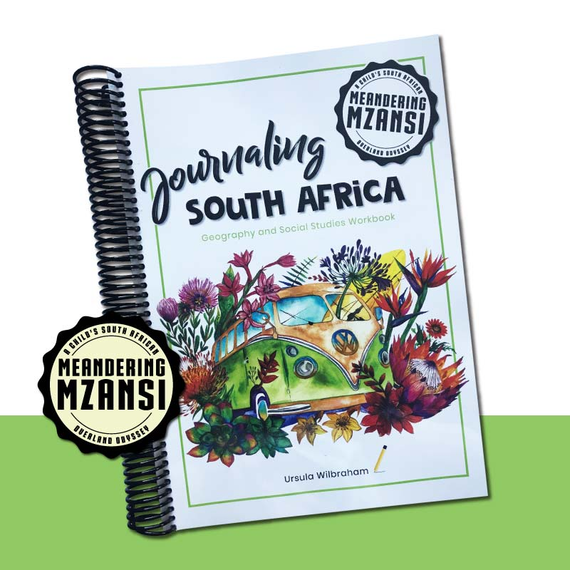 One Journaling South Africa Geography Workbook